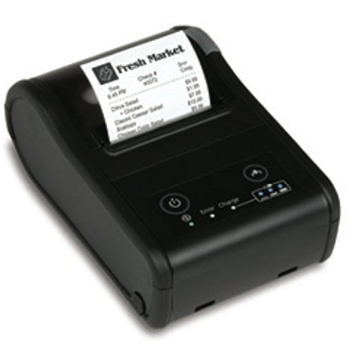 Epson C31CE14012 Series TM-P20 Thermal Line Printer, Wifi, Mobilink, Includes Battery and Base Charger, Includes Acadaptc, Black
