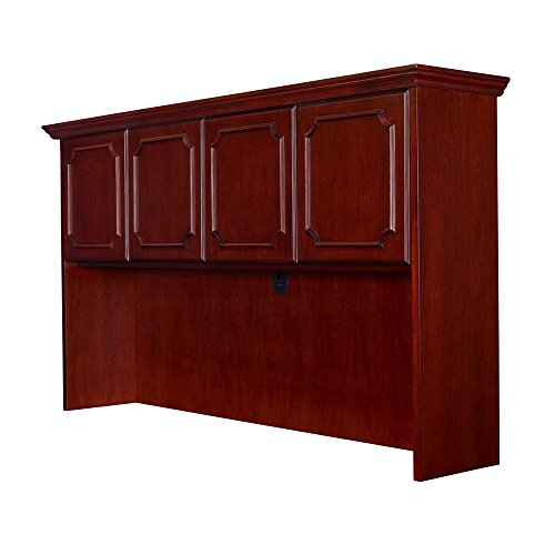 Prestige Veneer Hutch with Doors - 72''W Mahogany Finish Dimensions: 72''W x 15''D x 42''H Weight: 160 lbs by Regency Contract