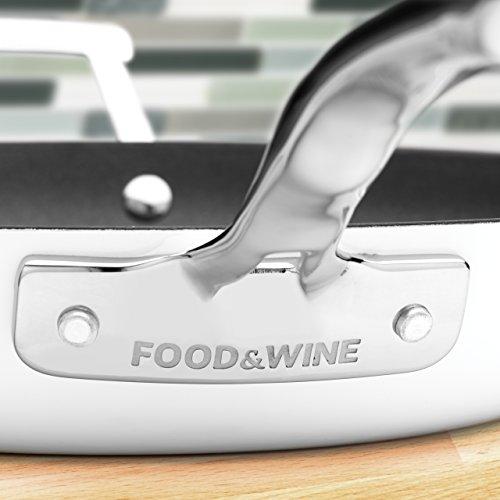 Food & Wine For Gorham Light Cast Iron 6 Quart Casserole, White