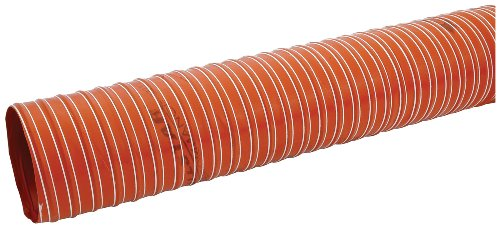 Allstar ALL42155 Orange 4'' x 10' Brake Duct Hose by Allstar (Image #1)