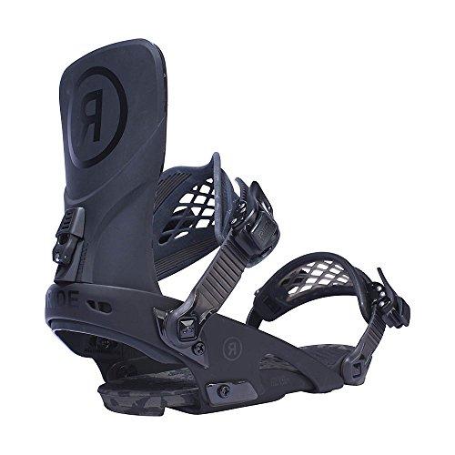 Ride Men's LTD: Snowboard Bindings (Black, Large)