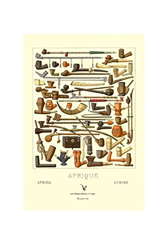 - Buyenlarge Afrique: Various Pipes Print (Canvas Giclee 12x18)