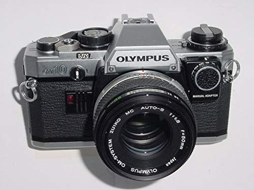 Olympus OM-10 OM10 35mm Manual Focus Film Camera And Lens Combo