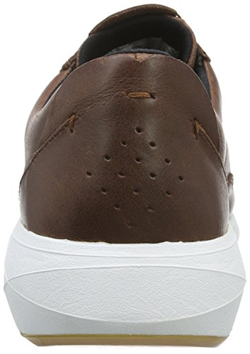 Boxfresh Rily Sh Lea, Men's Low-Top Sneakers Brown - Brown (Chestnut)
