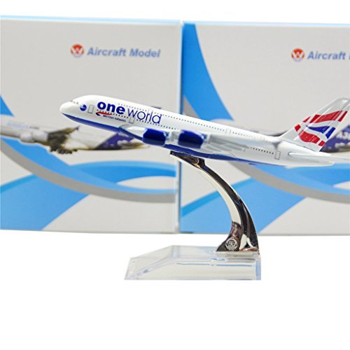 AIRBUS A 380 DIE CAST PLANE MODEL TOY/COLLECTION SCALE 1:400 - 4