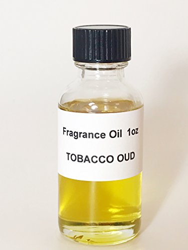 TOBACCO OUD (M) Fragrance Oil 1oz Perfume Body Oil Alcohol-Free Similar to Tobacco Oud Made in the USA by Lieber's Candles