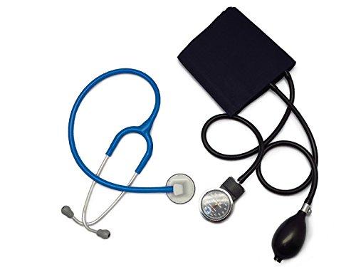 [セット]リットマン聴診器 セレクト(色お選び下さい)+アネロイド血圧計(ダークブルー) (ロイヤルブルー 2298) B00SSLL19C