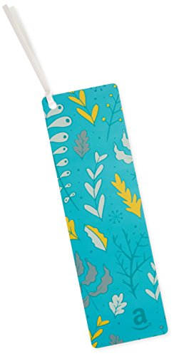 Way Bookmarks - Amazon.com $25 Gift Card as a Bookmark (Leaves Design)