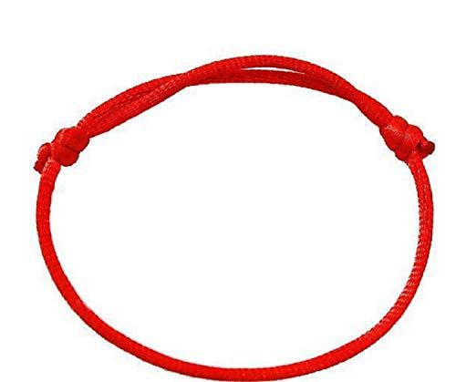 Coolrunner Good Luck Kabbalah Red String of Faith Rope Bracelet