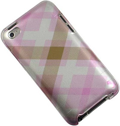 - Luxmo Crystal Case Pink Pastel Checker fits iPod Touch 4 CATH4PKPTCK