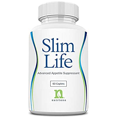 Best Appetite Suppressant for Weight Loss for Women and Men - Slim Life Fat Burner Diet Pills to Help Appetite Suppression - Fat Burners for Women - 60 Capsules
