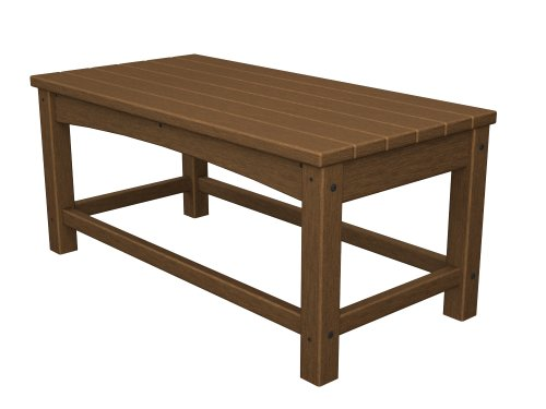 Cheap POLYWOOD CLT1836TE Club Coffee Table, Teak