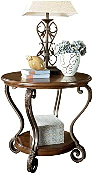 Signature Design by Ashley Nestor Traditional End Table