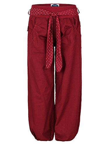 4tuality® - Pantalón - chino - para mujer Rojo