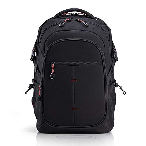 Xiaomi U'REVO Business Travel Laptop Backpack Water-resistant Large Capacity Computer Bag Fits 15 inch Laptop and Notebook (Black)