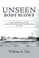 My 2019 book, Unseen Body Blows, is the true story of life aboard one of the first World War 2 Tank Landing Ships as it operated in seven Pacific campaigns. The story is about its crew that began service aboard LST 479 as a group of ve...