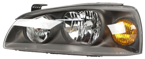 OE Replacement Hyundai Elantra Driver Side Headlight Assembly Composite (Partslink Number HY2502130)