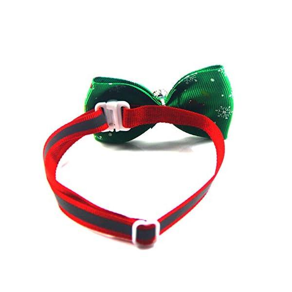 Estilo 10 Scrox 1x Navidad Decoracion Mascotas Collar Perro Adornos Arco Perros Accesorios Abrigos Lindo Pajarita Gato Peluche Perro Juguete Mascotas Navidad Ropa