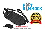 EZ Travels Footrest Hammock | Perfect Adjustable for Under Desk,Travel,Airplane, Car,Office, Kids,Chair Ottoman with Foot Rest for Gaming, Soft Cushion