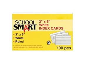 how big is an index card