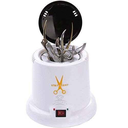 Makartt Nail Sterilizer Disinfect Machine High Temperature Metal Tattoo Art Nipper Tools Clean Pot