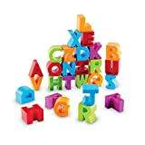 Learning Resources LER7718 Alphabet Building Blocks Toy