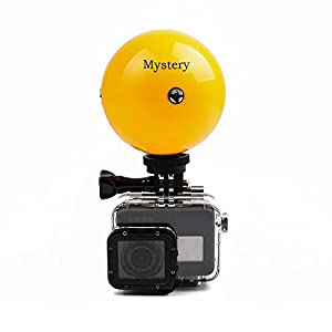 Mystery Floating Monopod Tripod Selfie Stick Buoy Ball & Waterproof Roatable Adjustable Floating Selfie Ball with Adjustable Wrist-Strap for GoPro Hero 5/4/3/3+/2/1, SJCAM, Xiaomi Yi Action Cameras