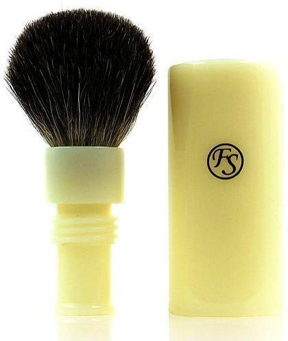 Shaving Brush Badger Travel Ivory product image