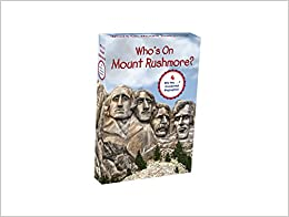 Book Who's on Mount Rushmore? Set (Who Was...?)
