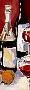 Jane Slivka – Wine and Dine I Artistica di Stampa (20,32 x 60,96 cm)
