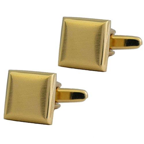 Goldtone Square Cufflinks