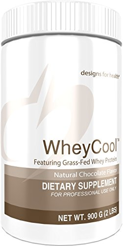 Designs for Health 20g of Grass Fed Whey Protein Powder in Chocolate – Whey Cool, 20g of Whey Protein (2 lbs / 30 Servings)