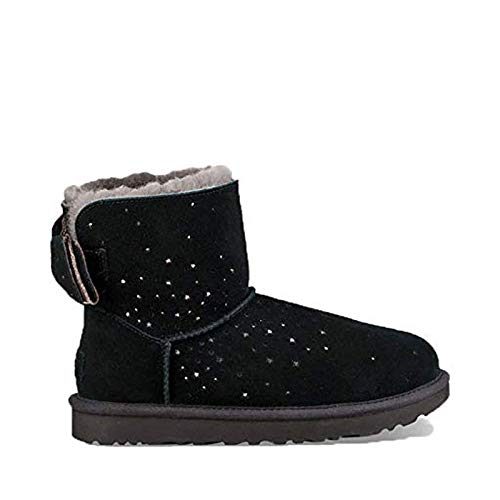 UGG Women's W STARGIRL Bow Mini Fashion Boot, Black, for sale  Delivered anywhere in USA