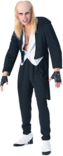 [GTH Men's Rocky Horror Riff Raff Picture Show Scary Party Costume, One Size] (Male Costumes Rocky Horror)