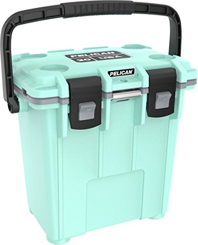 (Pelican Elite 20 Quart Cooler (Seafoam/Gray))