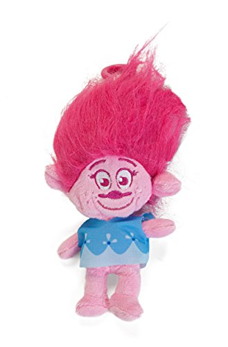 "Trolls ""Poppy"" Backpack Plush Coin Clip Key Chain Toy Bag"