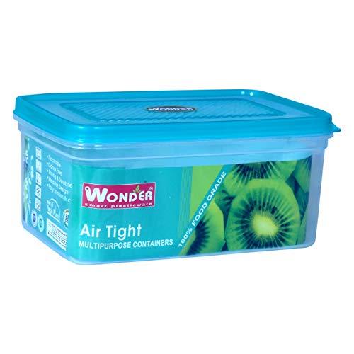 Wonder MPC Jumbo Square Airtight Kitchen Container/Bread Box, 1 Pc, Blue Color