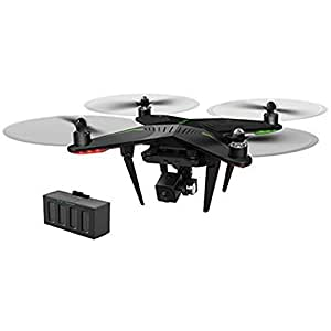 XIRO Xplorer Dual Battery Aerial UAV Drone Quadcopter with 1080p FHD FPV live Video Camera and 3 Axis Gimbal Plus extra battery -- V Version + Extra Battery