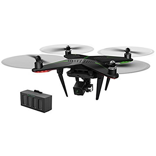 XIRO Xplorer Dual Battery Aerial UAV Drone Quadcopter with 1080p FHD FPV live Video Camera and 3 Axis Gimbal Plus extra battery — V Version + Extra Battery
