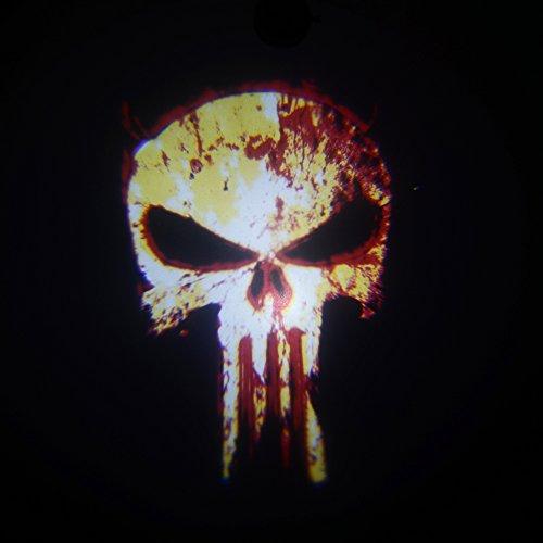 2X Replacement Inserts Logo Slides Panisher Skull
