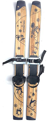 sporten First Step XC Skis for Kids with Adjustable Bindings 80cm