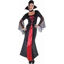 DǸguisement adulte Comtesse Vampire Gothique - Taille MǸdium (10-12 UK)