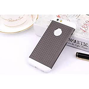 DK_Metal and Plastic Double Color Thick Hemp Small Circle for iPhone 6