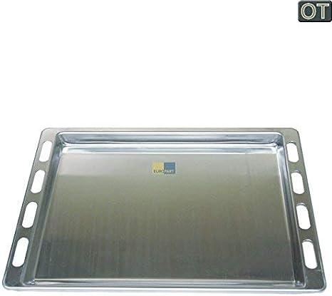Alu Backblech für Backofen Herd 44,1 x 36,4 cm Aluminium Blech backen