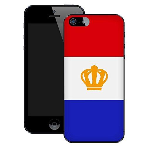 Tag des niederländischen Königs Tag | Handgefertigt | iPhone 5 5s | Schwarze Hülle