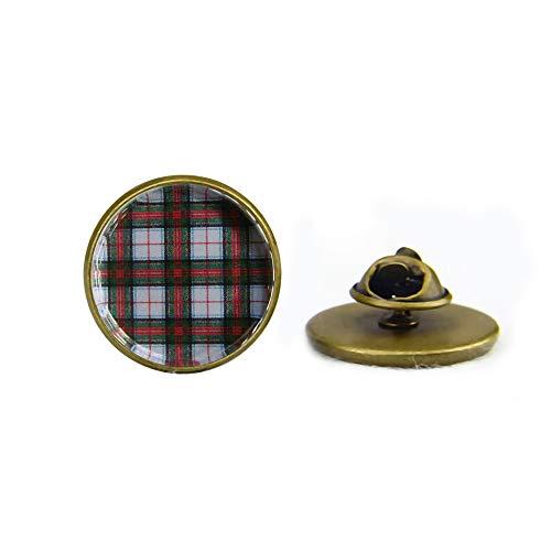 Stewart Victoria Scottish Tartan Brooch,Scottish Wedding Brooch, Bridesmaids, Royal Family Plaid,Friendship - Tartan Royal Stuart