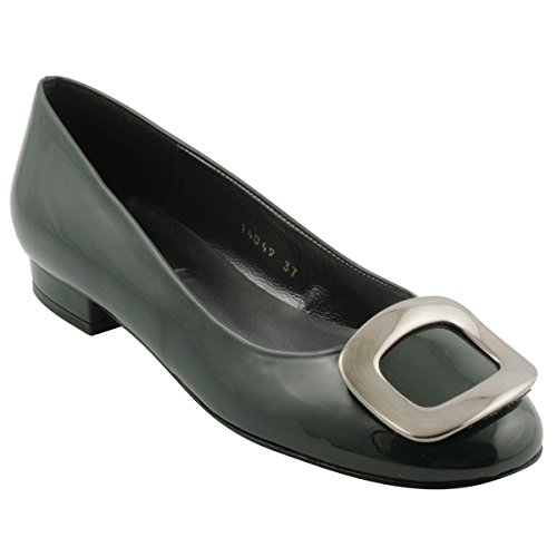 Flats Women's Paris Ballet Green Exclusif vC10x