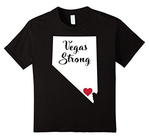 Kids VEGAS STRONG LAS VEGAS PRIDE LOGO T-SHIRT 6 - Vegas Show For In Las Kids