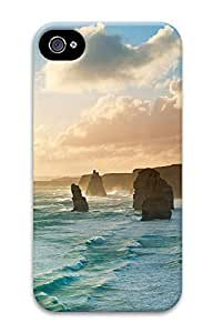iPhone 4 4S Case Costal Apostles 3D Custom iPhone 4 4S Case Cover