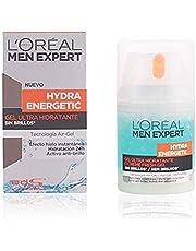 L'Oréal Paris Men Expert Hydra Energetic Gel Hidratante Anti-Brillo, 50 ml